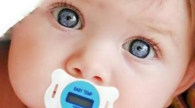 Соска-термометр для малышей